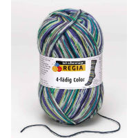 "Пряжа ""Regia 4-fadig Color 100 g"" (COATS)"