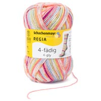 "Пряжа ""Regia 4-fadig Color 50 g"" (COATS)"